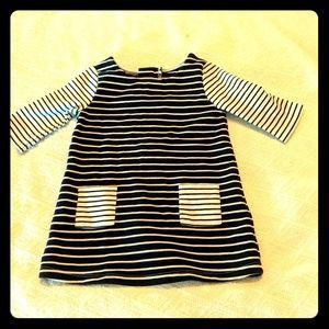 Oshkosh Stripes Baby Dress 12 Months